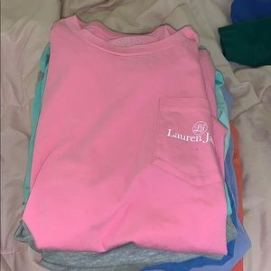 - short sleeve Lauren James shirts!